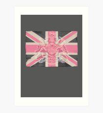 Union Jack camouflage Tee Art Print