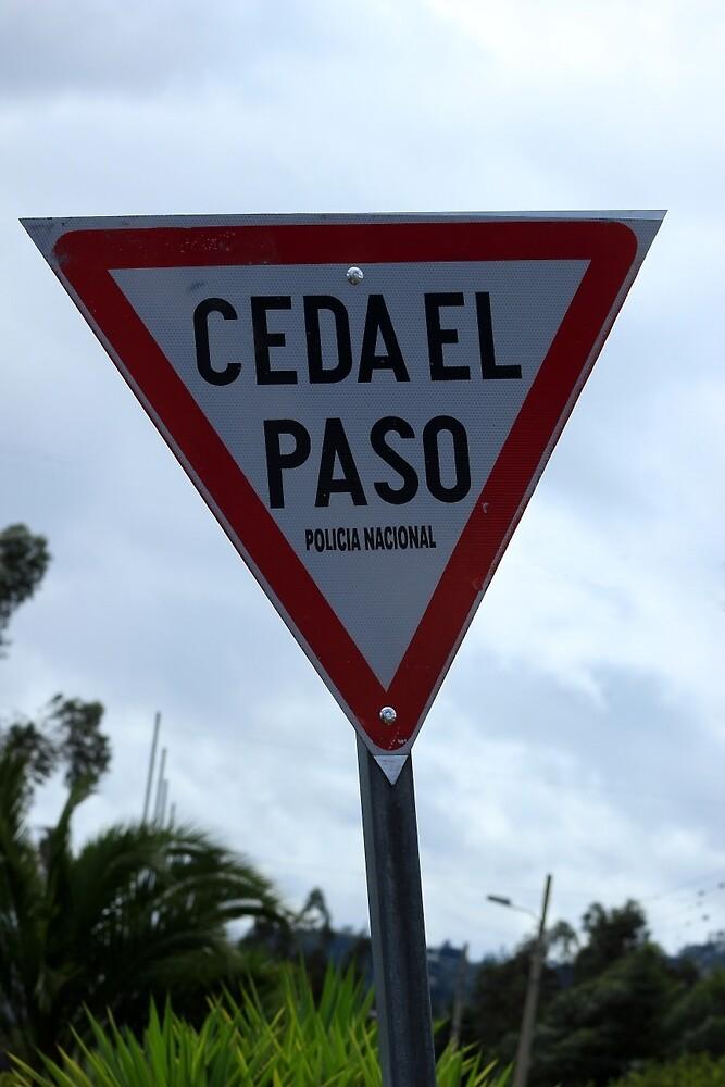 Spanish Yield Sign by rhamm