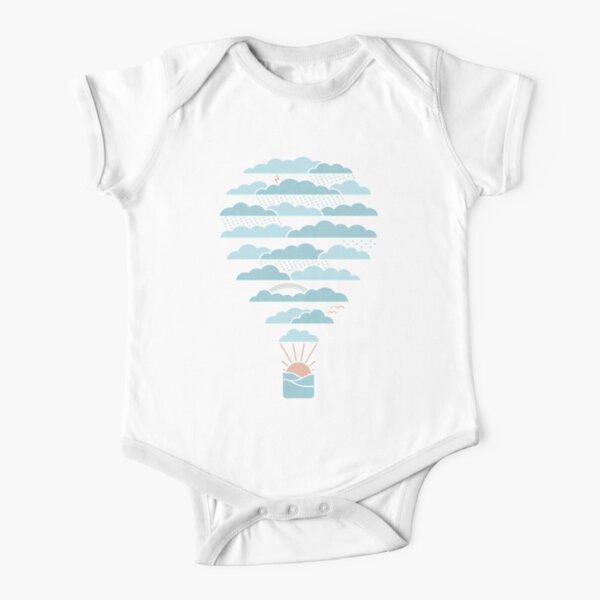 Weather Balloon Short Sleeve Baby One-Piece