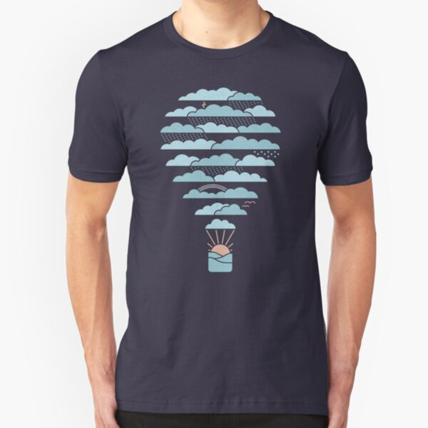 Weather Balloon Slim Fit T-Shirt