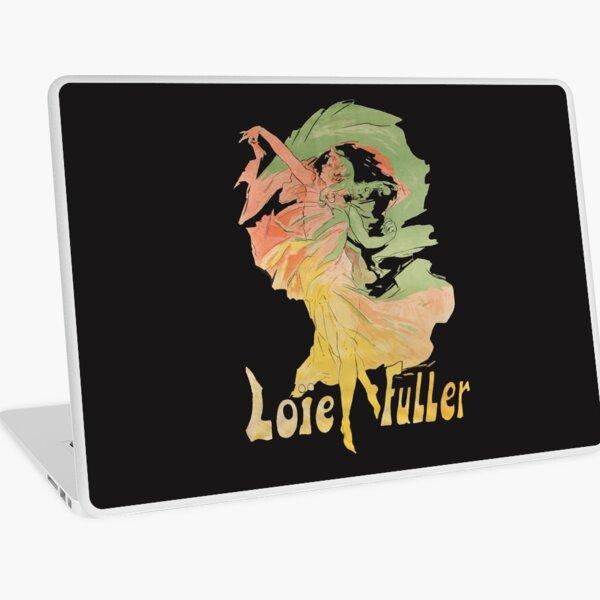 La Loie Fuller - 1920 dancer Priestess of Fire - Dancing in the flames Laptop Skin