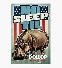 The Dollop - No Sleep Til Hippo Photographic Print