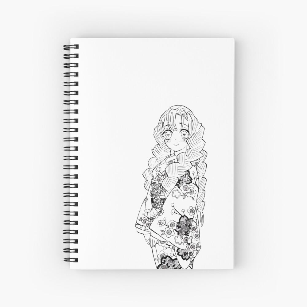 Mitsuri Kanroji Love Pillar Demon Slayer Manga Spiral Notebook By Shoptocka Redbubble A character in kimetsu no yaiba. redbubble