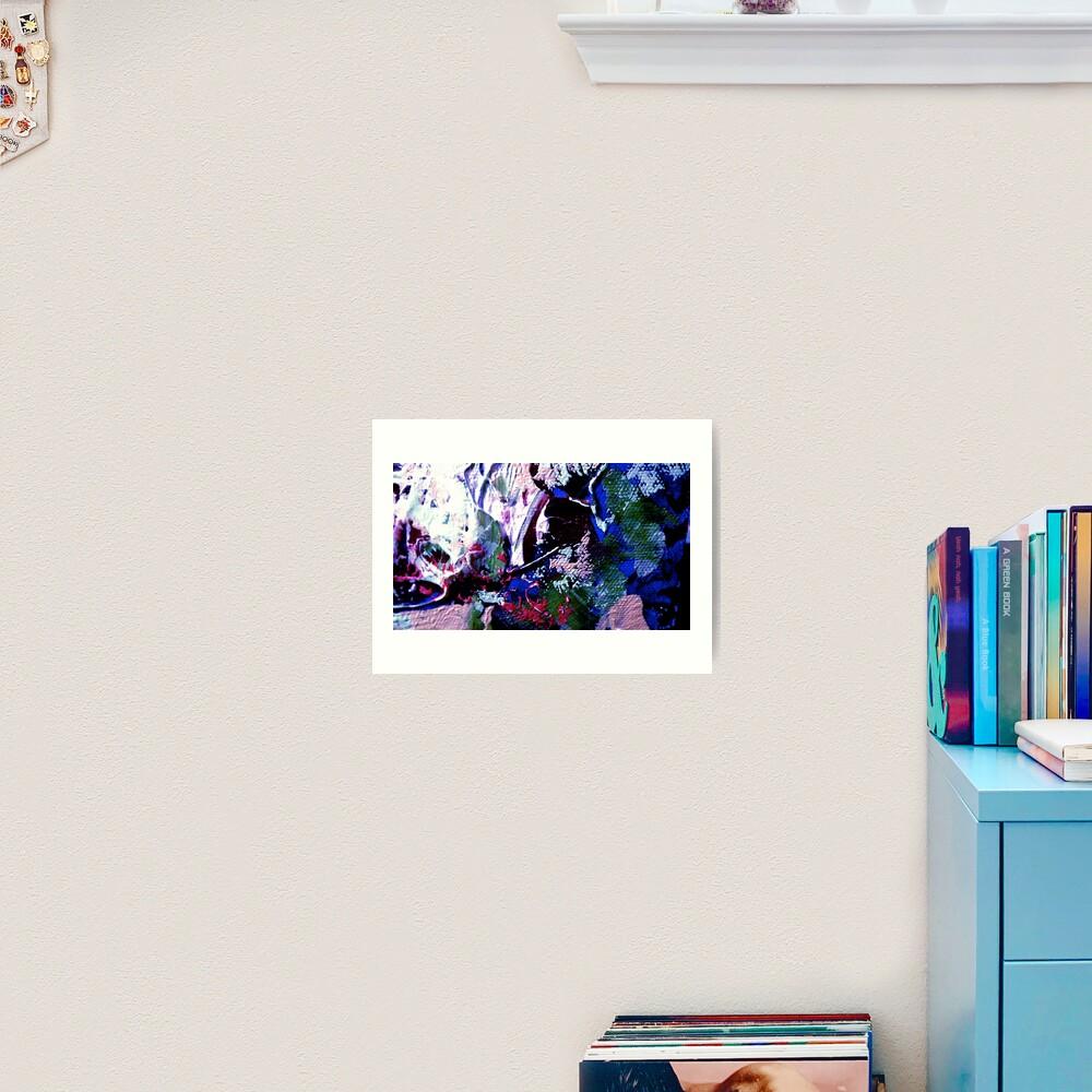 Enchantment: Acrylic on Canvas Art Print