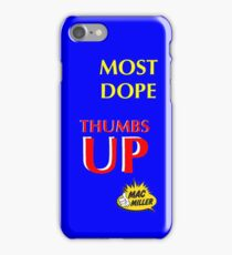 MAC MILLER THUMBS UP iPhone Case/Skin
