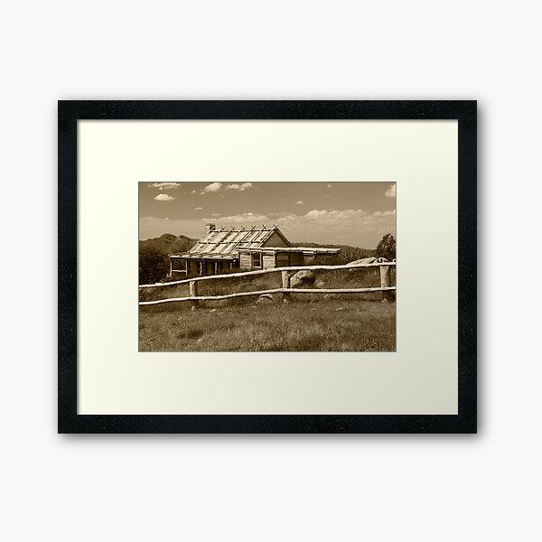 Craigs Hut  Framed Art Print