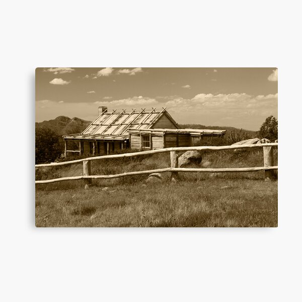 Craigs Hut  Canvas Print