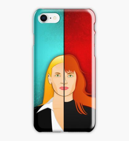 Olivia VS Fauxlivia iPhone Case iPhone Case/Skin