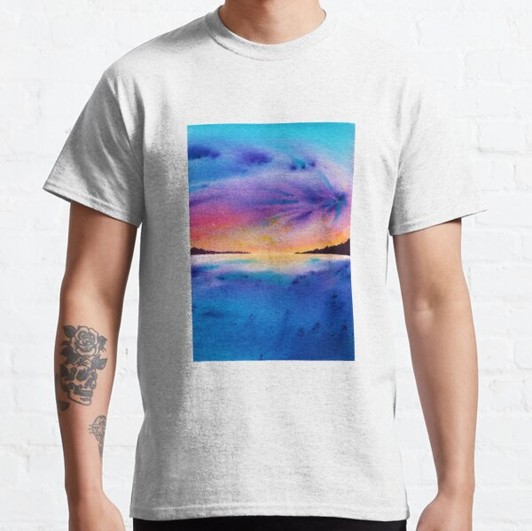 Dramatic Landcape With A Stormy Sky Classic T-Shirt