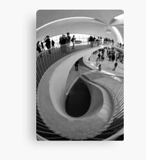 Down the Staircase  Canvas Print