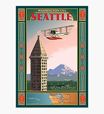 Seattle Icons Photographic Print