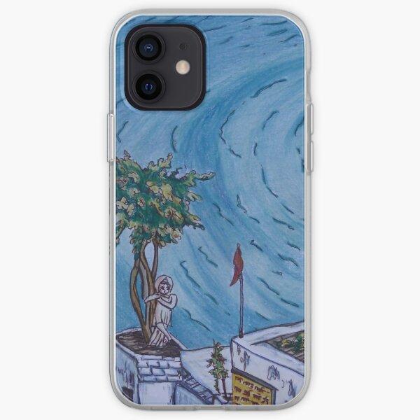 Pretty postcard of lake Pushkar, Rajasthan, India iPhone Soft Case
