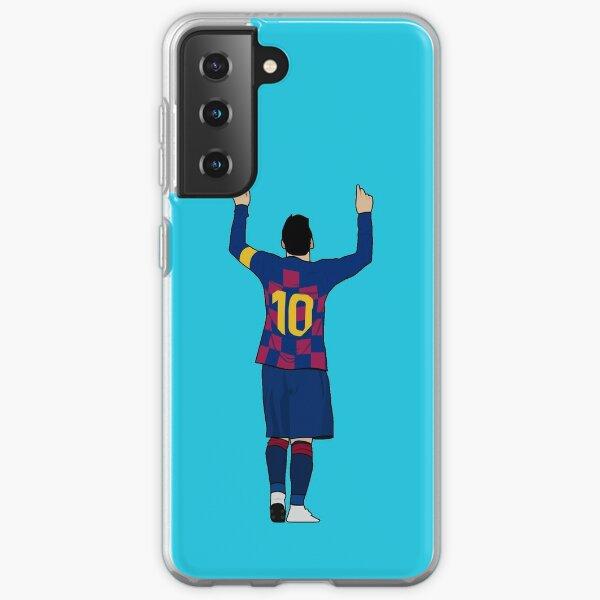 Messi Blue Samsung Galaxy Soft Case