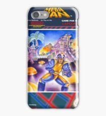 Mega Man 1 nes  iPhone Case/Skin