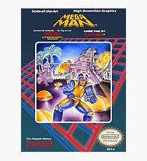 Mega Man 1 nes  Photographic Print