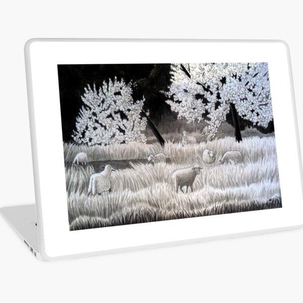 Winter Sheep in Ibiza Laptop Skin