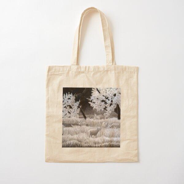 Winter Sheep in Ibiza Cotton Tote Bag