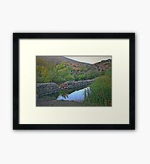 Old Mission Dam-Historic Landmark Framed Print