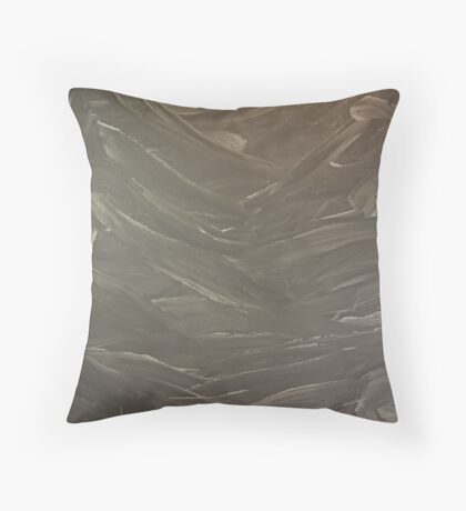 Abstract Valley Throw Pillow