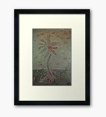 The Metal Flower Framed Print