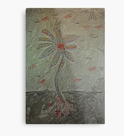 The Metal Flower Metal Print