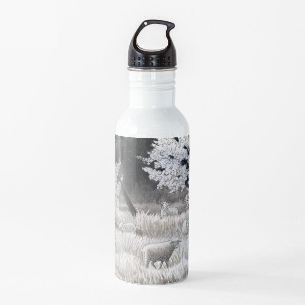Winter Sheep in Ibiza Water Bottle