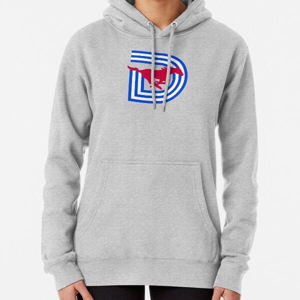 NEW SMU / Dallas Football Logo Pullover Hoodie