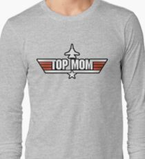 Top Gun style T-Shirt (Top Mom) Long Sleeve T-Shirt