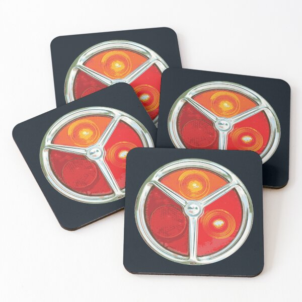 Ford Escort Mk1 RS2000 Mexico Twin Cam art Gift Idea Drinks Coaster