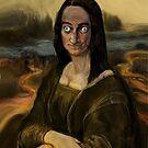 MARTY FELDMAN AS MONA -LISA by Ray Jackson
