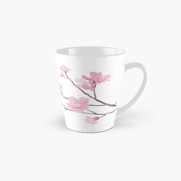 Cherry Blossom - Transparent Background Tall Mug