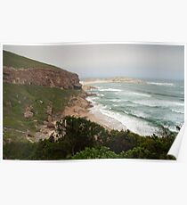 Tide is coming in - Robberg NP Poster