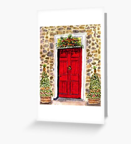 A Colonial Christmas at Dobbin House, Gettysburg Greeting Card