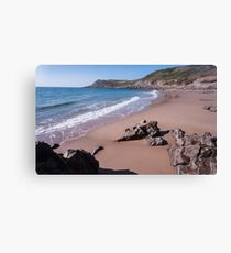 Fall Bay Gower Swansea Canvas Print