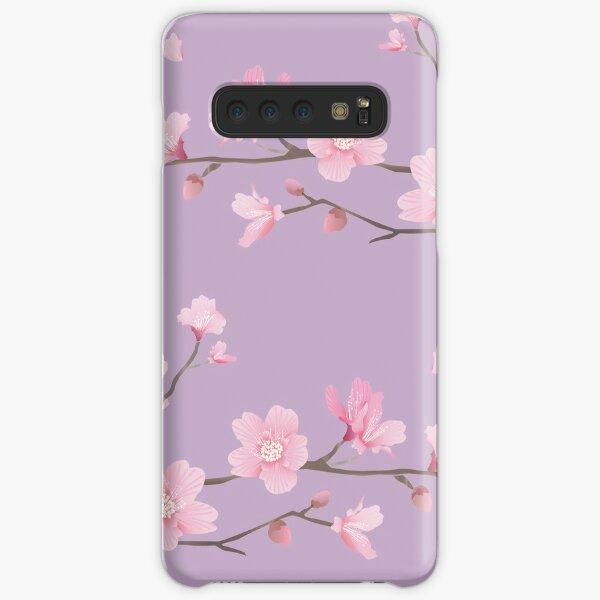 Cherry Blossom - Pastel Purple Samsung Galaxy Snap Case