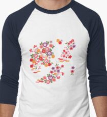 Blooming Men's Baseball ¾ T-Shirt