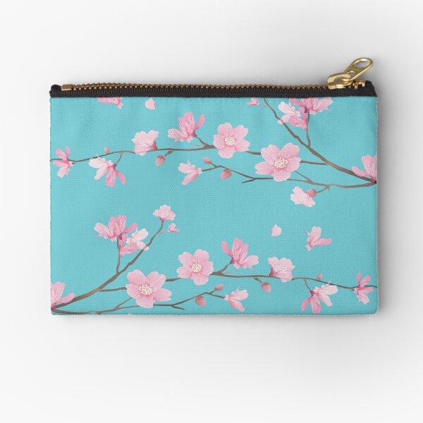 Cherry Blossom - Robin Egg Blue Bolsos de mano