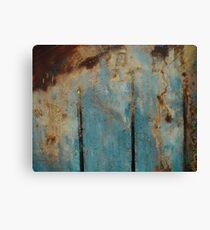 Abstract Peat Landscape No3, Ireland. Canvas Print