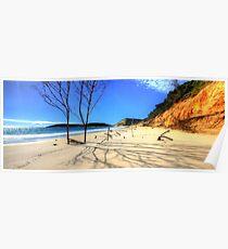 Coloured Sands - Rainbow Beach Poster