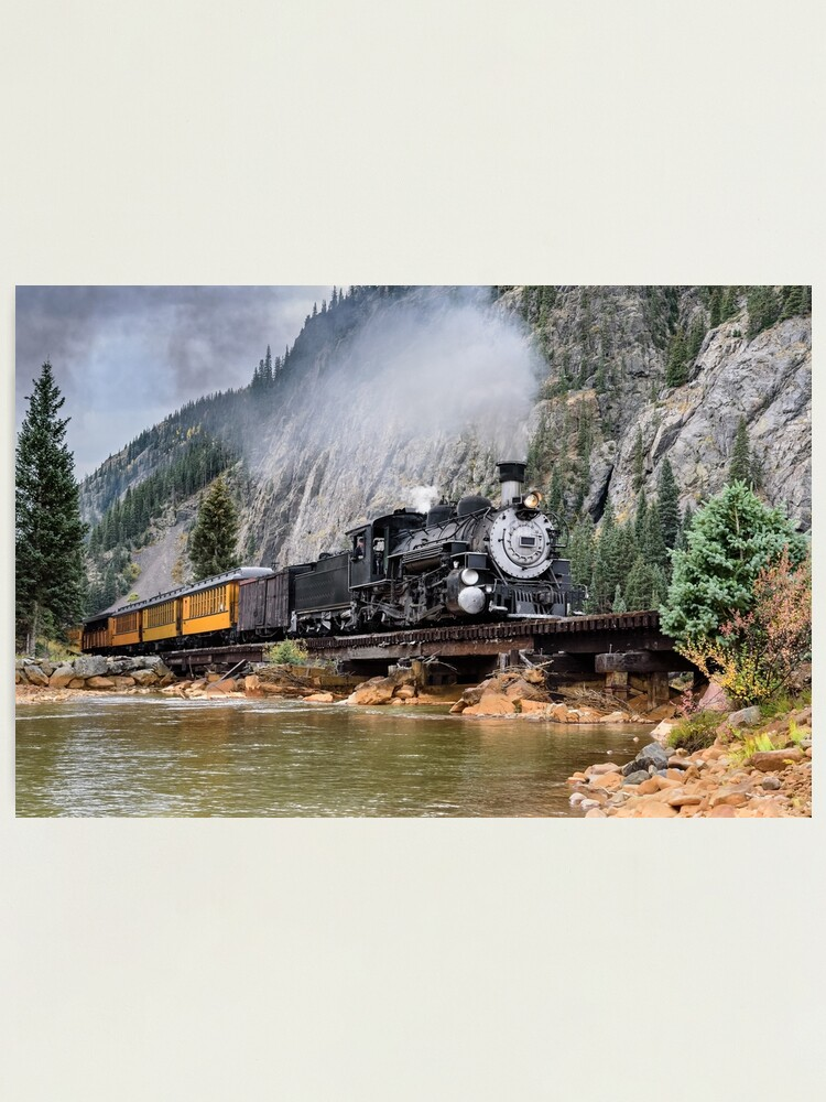 Alternate view of Vintage Steam Train Photographic Print