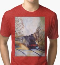 The Steaming Beauty Tri-blend T-Shirt