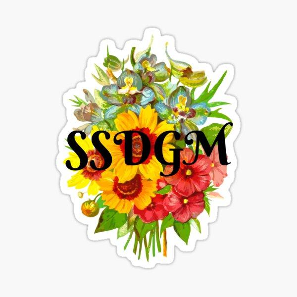 SSDGM  Sticker