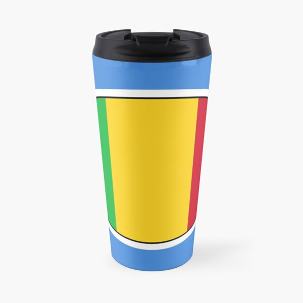 Mali Flag Stickers, Gifts and Products Travel Mug