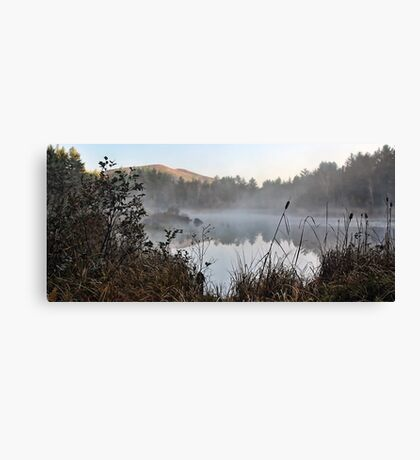 Pleasant Mountain - View From The Marsh Canvas Print
