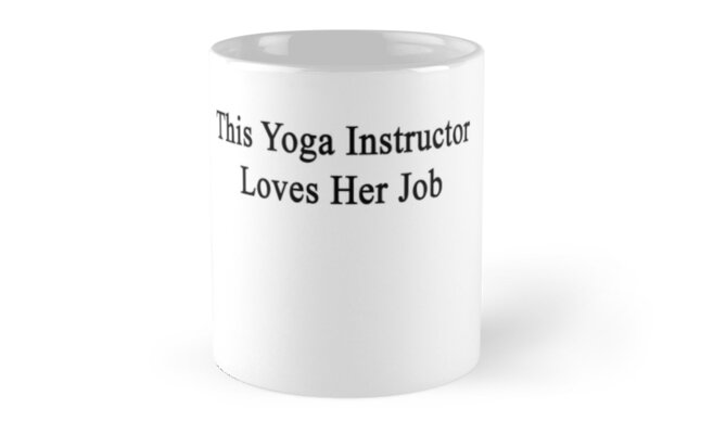 This Yoga Instructor Loves Her Job  by supernova23