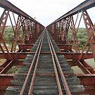 Old Ghan Rail Bridge.... von A1000WORDS
