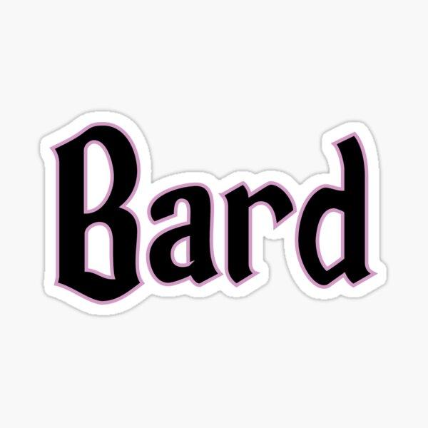 Bard  Sticker