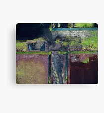 Abstract Peat Landscape No2, Ireland Canvas Print