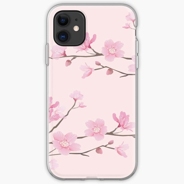Cherry Blossom - Pink iPhone Soft Case