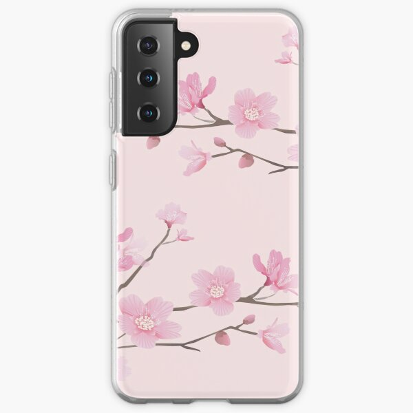 Cherry Blossom - Pink Samsung Galaxy Soft Case
